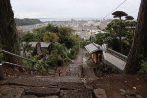 八幡竈門神社正面階段