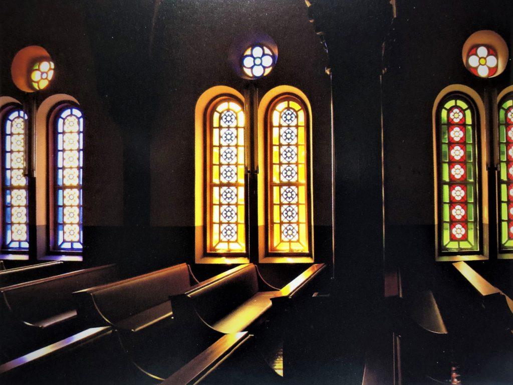 今村天主堂ステンドグラス絵はがき