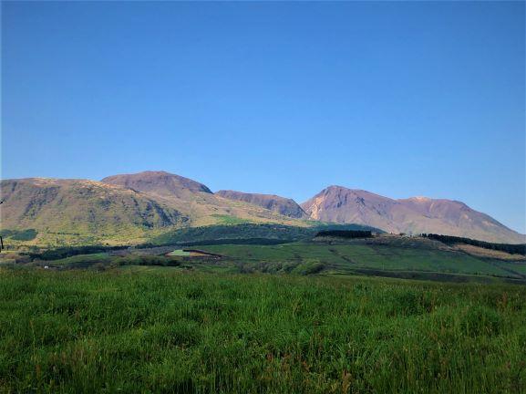 産山村周辺の景色